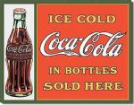 Coca Cola Inspired Vintage Style Advertising Metal Wall Sign Plaque Art 15X20cm
